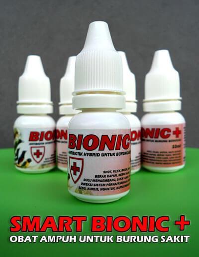 Smart BIONIC+, Obat Antibiotik untuk Burung Sakit